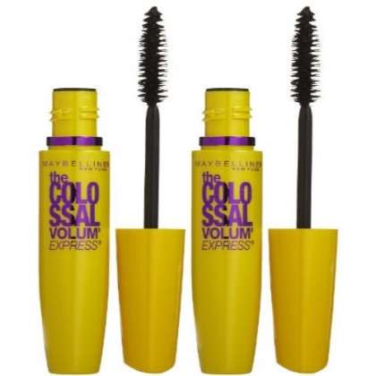 Maybelline New York Volum' Express The Colossal Mascara - Glam Black - 2 Pack