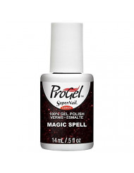 Supernail Progel Nail Lacquer, Magic Spell, 0.5 Fluid Ounce
