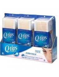 Unilever - Q-Tip Cotton Swabs, 625 Count, 3-Pk (1 pack of 3 items)