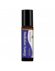 Plant Therapy Meditation Synergy Essential Oil Blend Ore-Diluted Roll-On 10 mL (1/3 oz) 100% Pure, Therapeutic Grade