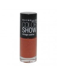 NEW Maybelline Color Show Vintage Leather Nail Polish - 865 High Style Sienna