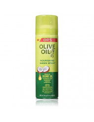 Ors Olive Oil Nourishing Sheen Spray, 11.7 oz (Pack of 4) - Packaging May Vary