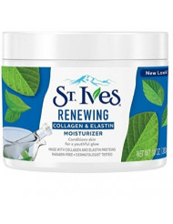 St Ives Renewing Collagen and Elastin Face Moisturizer, 10-Ounce Jar (3-Pack)