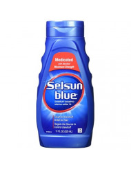 Selsun Blue Medicated Dandruff Shampoo 11 Oz (2 Pack)