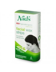 Nads Hair Removal Facial Strips 24 Count (3 Pack)