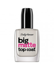 Sally Hansen Treatment Big Matte Top Coat, 41055, 0.4 Fl Oz (Pack of 1)