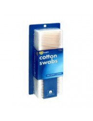 Sunmark Cotton Swabs - 300 ct, Pack of 4