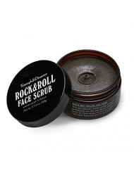 Triumph & Disaster Rock & Roll - Volcanic Ash and Green Clay Face Scrub - Natural Pore-Cleansing Blackhead-Removing Skin Nourishing Facial Exfoliator 5.11 oz 145g