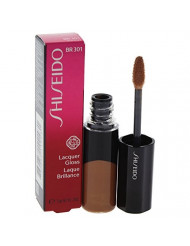 Shiseido Lacquer Gloss - # Br301 Mocha By Shiseido for Women - 0.25 Oz Lip Gloss, 0.25 Oz