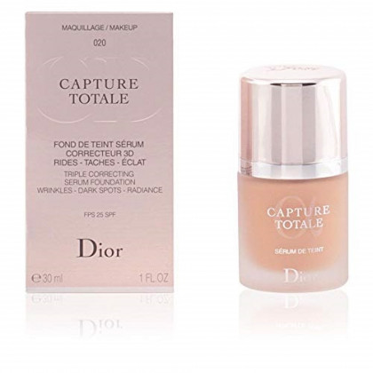 Christian Dior Capture Totale Triple Correcting Serum Spf 25 Foundation, 022 Cameo, 1 Ounce