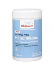 Walgreens Hand Wipes, 72 ea