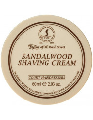 Taylor of Old Bond Street Sandalwood Shaving Cream 2.03 oz. 60g