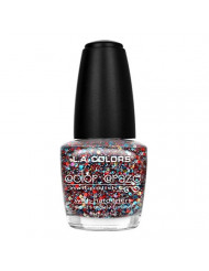 L.A. Colors Color Craze Nail Polish, Confetti, 0.44 Fluid Ounce