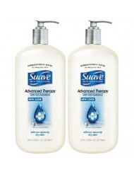 Suave Advanced Therapy Body Lotion - 32 oz - 2 pk