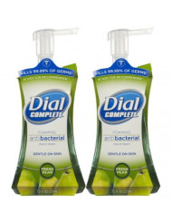 Dial Complete Antibacterial Foaming Hand Wash - Fresh pear - 7.5 oz - 2 pk