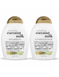 OGX Nourishing Coconut Milk Shampoo & Conditioner (13 Ounce)