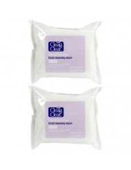 Clean & Clear Oil, Free Makeup Dissolving Cleansing Wipes - 25 ct - 2 pk
