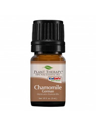 Plant Therapy Chamomile German Essential Oil 100% Pure, Undiluted, Natural Aromatherapy, Therapeutic Grade 5 mL (1/6 oz)