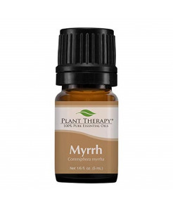 Plant Therapy Myrrh Essential Oil 100% Pure, Undiluted, Natural Aromatherapy, Therapeutic Grade 5 mL (1/6 oz)