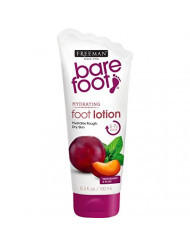 Freeman Bare Foot Hydrating Foot Lotion, Peppermint & Plum 5.30 oz