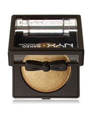 NYX Professional Makeup Baked Eyeshadow, Ghetto Gold, 0.1 Ounce