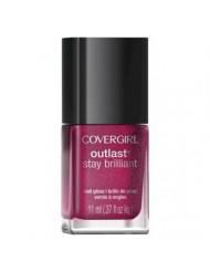 Only 1 in Pack CoverGirl Outlast Stay Brilliant Nail Gloss, 313 Bombshell