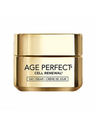 L'Oreal Paris Skincare Age Perfect Cell Renewal Day Cream Anti-Aging Face Moisturizer with SPF 15 to Replump Refresh and Renew 1.7 oz.