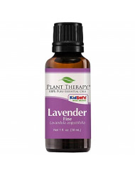 Plant Therapy Lavender Fine Essential Oil 30 mL (1 oz) 100% Pure, Undiluted, Therapeutic Grade