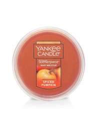 Yankee Candle Spiced Pumpkin Scenterpiece Easy MeltCup, Food & Spice Scent,medium orange,Scenterpiece Easy MeltCups