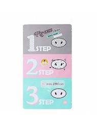 [Holika Holika] Pig Nose Clear Black Head 3-Step Kit (3 Set)