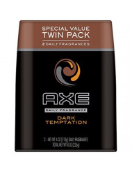 AXE Body Spray for Men - Dark Temptation - 4 oz - 2 pk