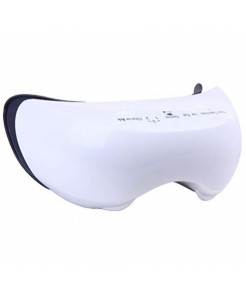 Carepeutic Kh277 Rechargeable Warm Steam Eye Reflexology Massager, White