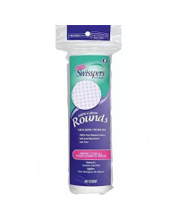 Swisspers Cotton Rounds 80 Count 100% Cotton (2 Pack)