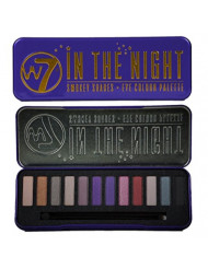 "W7 -""In The Night"" Smokey Shades - Eye Colour Palette 12 in 1 Eyeshadow Palette"
