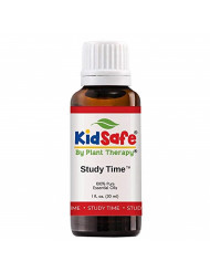 Plant Therapy Study Time Synergy Essential Oil - (Formally A+ Attention) Focus, MInd Calming, Concentration Blend for Kids 100% Pure, Undiluted, Natural Aromatherapy, Therapeutic Grade 30 mL (1 oz)