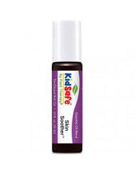 Plant Therapy KidSafe Skin Soother Synergy Pre-Diluted Essential Oil Roll-On. Ready to use! 100% Pure, Therapeutic Grade Essential Oils Diluted in Fractionated Coconut Oil. 10 ml (1/3 oz).
