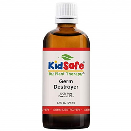 Plant Therapy Germ Destroyer Synergy Essential Oil | Guard From Illness, Support Blend for Kids | 100% Pure, KidSafe, Undiluted, Natural Aromatherapy, Therapeutic Grade | 100 milliliter (3.3 ounce)