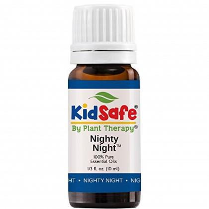 "Plant Therapy Essential Oils Nighty Night Synergy Sleep Blend 100% Pure, KidSafe, Undiluted, Natural Aromatherapy, Therapeutic Grade 10 mL (â…"" oz)"