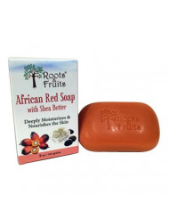Roots and Fruits, African Red Soap, Shea Butter, 5 Ounce