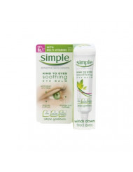 Simple Kind to Eyes Soothing Eye Balm 15ml Pack of 3