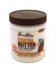 Queen Helene Jar Cream Cocoa Butter 15 Ounce (443ml) (6 Pack)