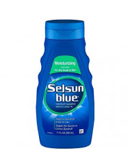 Selsun Blue Moisturizing with Aloe Dandruff Shampoo 11 oz (Pack of 6)