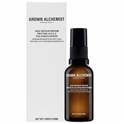 Grown Alchemist Age-Repair Serum Peptide-8 & E-2 Polysaccharide - Anti Aging Facial Serum Made with Organic Ingredients (30ml / 1.06oz)