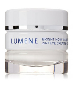 Lumene Bright Now Visible Repair 2 in 1 Eye Cream and Concealer, 0.57 Fluid Ounce