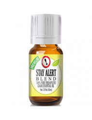 Stay Alert Essential Oil Blend - 100% Pure Therapeutic Grade Stay Alert Blend Oil - 10ml
