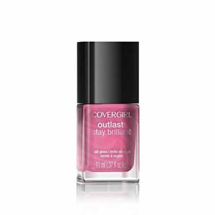 COVERGIRL Outlast Stay Brilliant Nail Gloss Petal Power 40, .37 oz (packaging may vary)