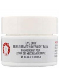 First Aid Beauty Eye Duty Triple Remedy Overnight Balm, 0.5 Ounce