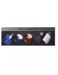 Bvlgari Collection 5 Piece Gift Set for Men. Combination of Perfumes may vary from the picture