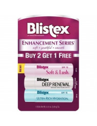 Blistex Enhancement Series, 0.13 ounce, Pack of 3