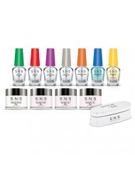 SNS Nails Dipping Powder, Student Starter Kit 4, Pink and White